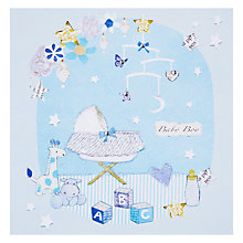 Buy Hammond Gower New Baby Boy Greeting Card Online at johnlewis.com