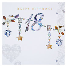 Buy Hammond Gower Precious 18th Birthday Card Online at johnlewis.com