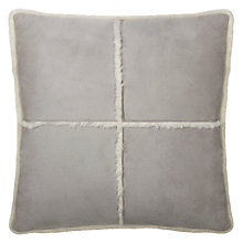Buy John Lewis Alfie Faux Sheepskin Cushion Online at johnlewis.com