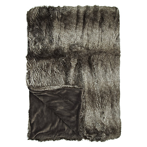 Buy John Lewis Annoushka Faux Fur Throw Online at johnlewis.com