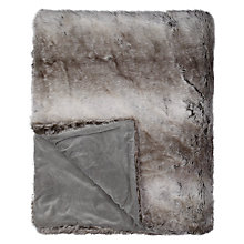 Buy John Lewis Irina Throw, Grey Online at johnlewis.com