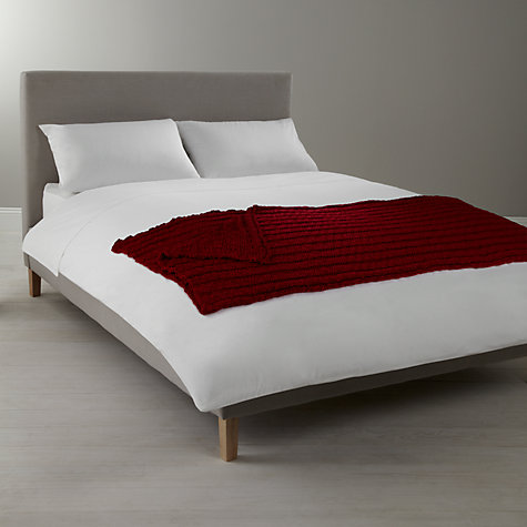 Buy John Lewis Chunky Knit Throw Online at johnlewis.com