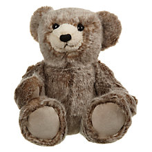 Buy John Lewis Faux Fur Teddy Bear Online at johnlewis.com