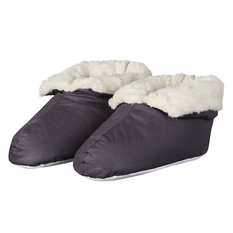 Buy John Lewis Foot Duvets, Steel Online at johnlewis.com