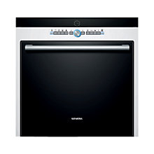 Buy Siemens HB78GB270B Single Electric Oven, White Online at johnlewis.com