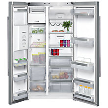 Buy Siemens KA62DV78G American Style Fridge Freezer, Stainless Steel Online at johnlewis.com