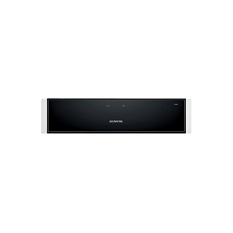 Buy Siemens HW1402P2B Built-In Warming Drawer, White Online at johnlewis.com