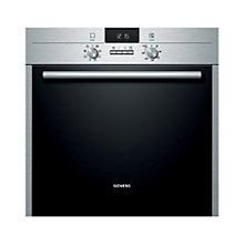 Buy Siemens HB63AB521B Single Electric Oven, Stainless Steel Online at johnlewis.com