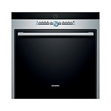 Buy Siemens HB78GB570B Single Electric Oven, Black/Stainless Steel Online at johnlewis.com