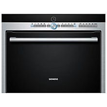 Buy Siemens HB86P575B Compact Single Electric Oven with Microwave, Stainless Steel Online at johnlewis.com