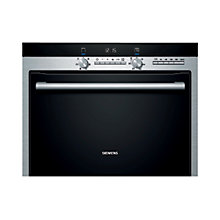 Buy Siemens HB84K552B Built-In Combination Microwave, Stainless Steel Online at johnlewis.com