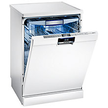 Buy Siemens SN26T298GB Freestanding Dishwasher, White Online at johnlewis.com