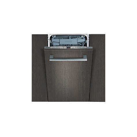 Buy Siemens SR65T080GB Integrated Slimline Dishwasher Online at johnlewis.com