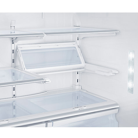 Buy Samsung RF24FSEDBSR 4-Door Fridge Freezer, Stainless Steel Online at johnlewis.com