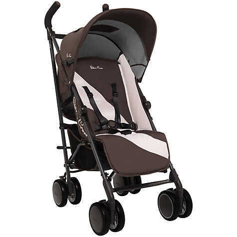 Buy Silver Cross Pop Stroller, Chocolate Online at johnlewis.com