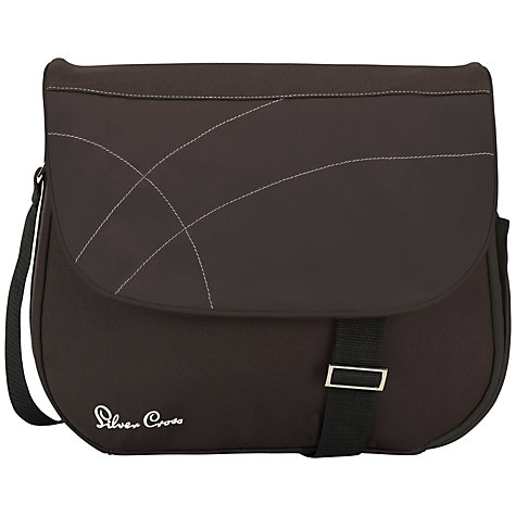 Buy Silver Cross Wayfarer Bag, Black Online at johnlewis.com