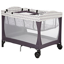 Buy John Lewis Travel Cot and Bassinette with Enhancer Bundle Online at johnlewis.com