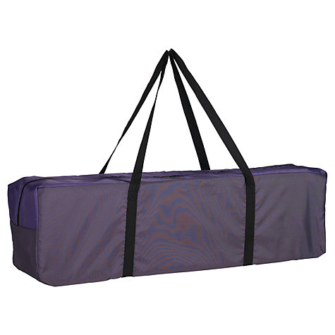 Buy John Lewis Travel Cot, Berry Online at johnlewis.com