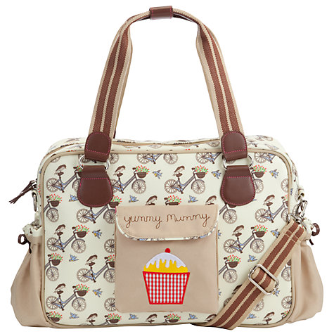 Buy Pink Lining Yummy Mummy Changing Bag, Bike in the Mews Online at johnlewis.com