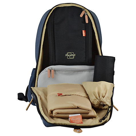 Buy PacaPod Picos Backpack Changing Bag, Denim Online at johnlewis.com
