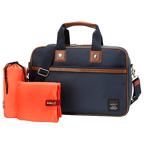 Buy Babymel Compton Changing Bag, Navy Online at johnlewis.com