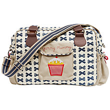 Buy Pink Lining Yummy Mummy Changing Bag, Navy Bows Online at johnlewis.com