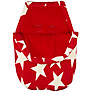 John Lewis Star Infant Carrier Footmuff, Red