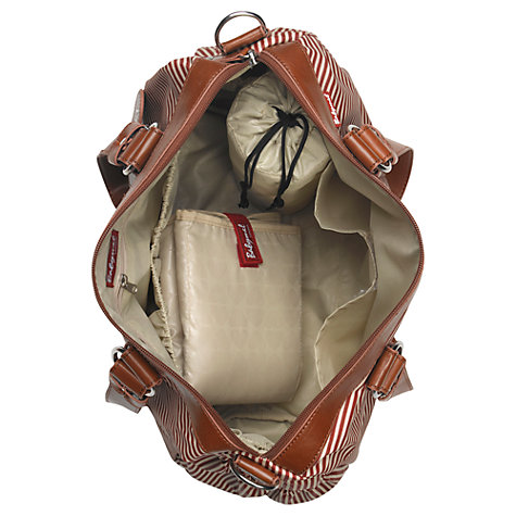 Buy Babymel Ella Changing Bag, Red Stripe Online at johnlewis.com