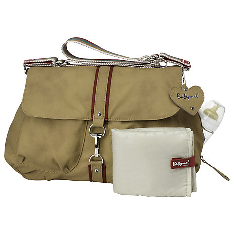 Buy Babymel Katie Changing Bag, Tan Online at johnlewis.com