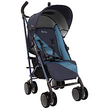 Buy Silver Cross Pop Stroller, Navy Online at johnlewis.com