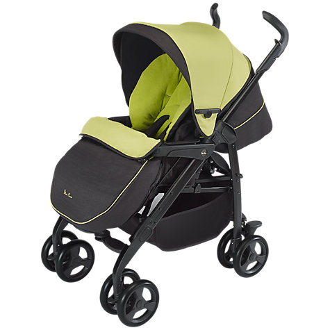 Buy Silver Cross 3D Pram System, Lime Online at johnlewis.com