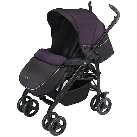 Buy Silver Cross 3D Pram System, Damson Online at johnlewis.com