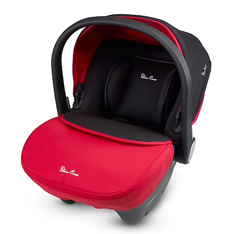 Buy Silver Cross Simplicity Group 0+ Baby Car Seat, Chilli Online at johnlewis.com