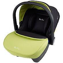Buy Silver Cross Simplicity Infant Carrier, Lime Online at johnlewis.com