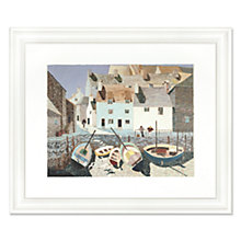 Buy Eric Harris - Polperro Framed Print, 62 x 52cm Online at johnlewis.com