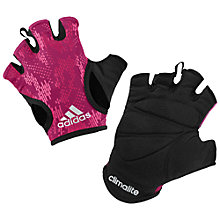 Buy Adidas Women's CLIMALITE Fitness Gloves Online at johnlewis.com