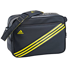 Buy Adidas Enamel 3 Stripes Medium Shoulder Bag Online at johnlewis.com