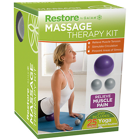 Buy Gaiam Restore Massage Therapy Kit Online at johnlewis.com