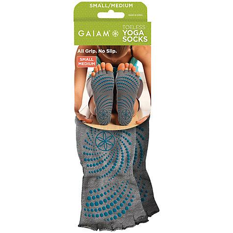 Buy Gaiam Toeless Gripp Socks John Lewis