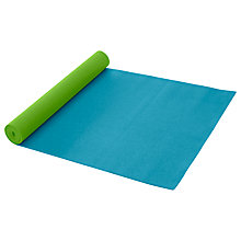 Buy Gaiam 3mm Peacock Yoga Mat Online at johnlewis.com