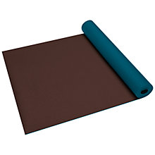 Buy Gaiam Earth and Sky Bi-Colour Yoga Mat, Brown/Sky Online at johnlewis.com