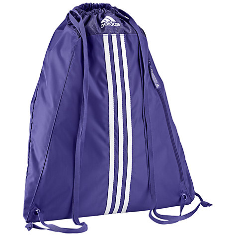 Buy Adidas 3 Stripes Essentials Gymbag Online at johnlewis.com