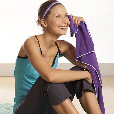 Buy Gaiam Thirsty Yoga Hand Towel Online at johnlewis.com
