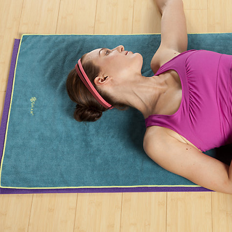 Buy Gaiam Thirsty Mat Yoga Towel Online at johnlewis.com