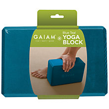 Buy Gaiam Yoga Block Online at johnlewis.com