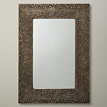Buy John Lewis Antique Metal Mirror, 52 x 37cm Online at johnlewis.com