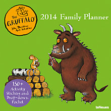 Buy The Gruffalo 2013/2014 Family Plan Online at johnlewis.com