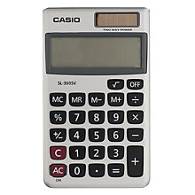 Buy Casio SL-300-S UH Basic Calculator Online at johnlewis.com