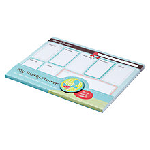 Buy KTWO My Weekly Planner Notepad Online at johnlewis.com