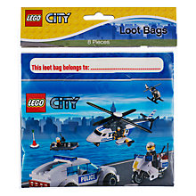 Buy Lego Loot Party Bags, Pack of 8 Online at johnlewis.com